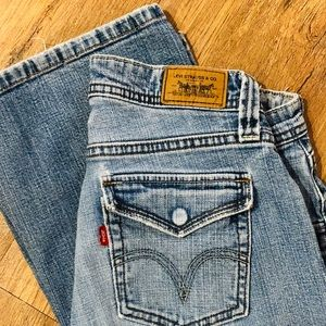 Levi's 542 - Low Flare jeans